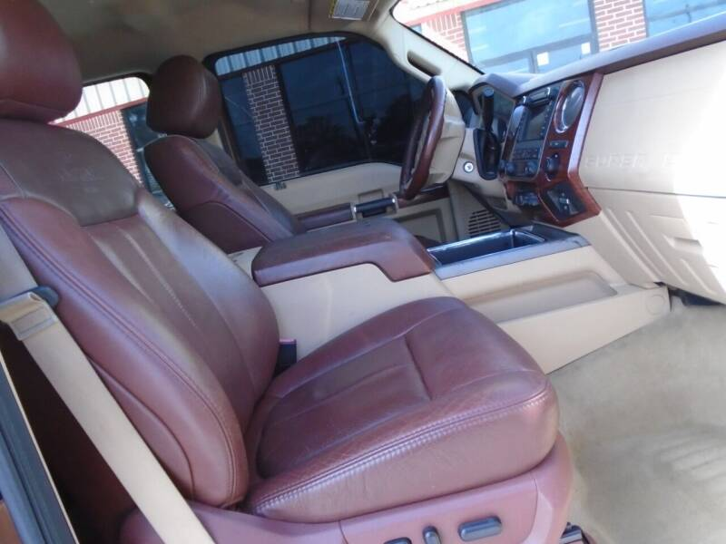 2012 Ford F-250 Super Duty 4x4 King Ranch 4dr Crew Cab 6.8 ft. SB Pickup - Houston TX