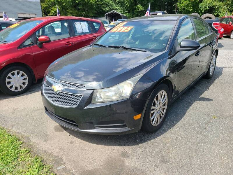 2012 Chevrolet Cruze for sale at Budget Auto Sales & Services in Havre De Grace MD