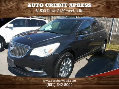 2015 Buick Enclave for sale at Auto Credit Xpress in North Little Rock AR
