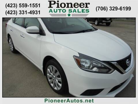 2017 Nissan Sentra for sale at PIONEER AUTO SALES LLC in Cleveland TN