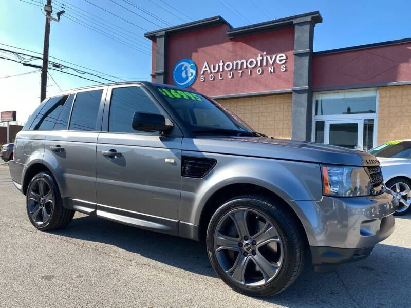 2011 Land Rover Range Rover Sport for sale at Automotive Solutions in Louisville KY
