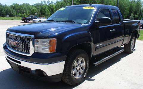 2010 GMC Sierra 1500 for sale at LOT OF DEALS, LLC in Oconto Falls WI