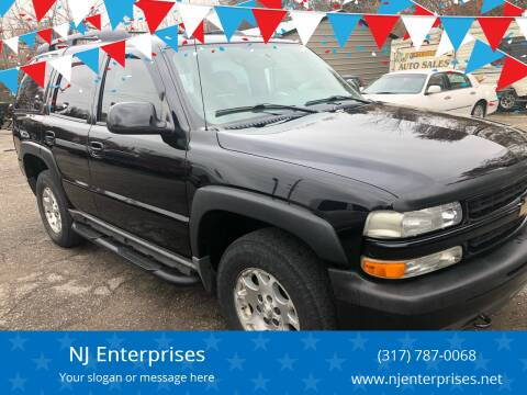 2005 Chevrolet Tahoe for sale at NJ Enterprises in Indianapolis IN