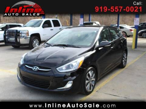 2017 Hyundai Accent for sale at Inline Auto Sales in Fuquay Varina NC