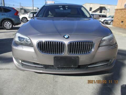 2011 BMW 5 Series for sale at Atlantic Motors in Chamblee GA