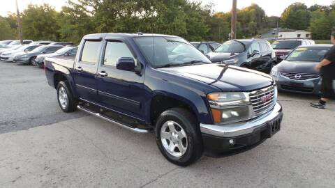 2010 GMC Canyon for sale at Unlimited Auto Sales in Upper Marlboro MD