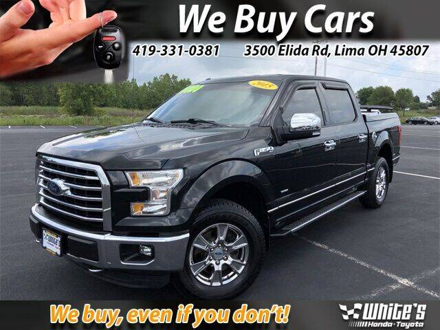 2015 Ford F-150 for sale at White's Honda Toyota of Lima in Lima OH