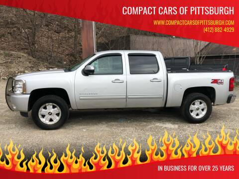 2012 Chevrolet Silverado 1500 for sale at Compact Cars of Pittsburgh in Pittsburgh PA
