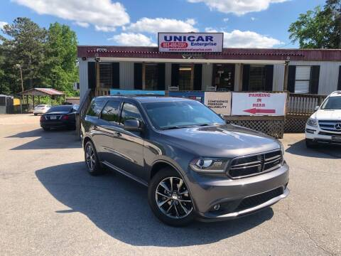 2014 Dodge Durango for sale at Unicar Enterprise in Lexington SC