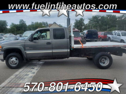 2002 GMC Sierra 3500 for sale at FUELIN FINE AUTO SALES INC in Saylorsburg PA