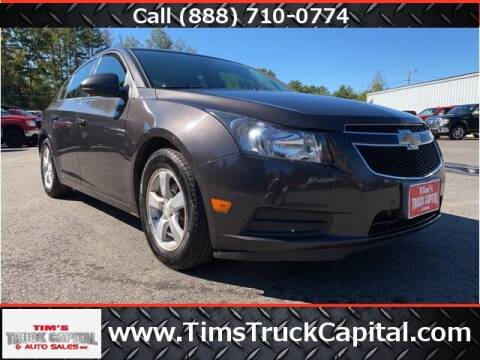 2014 Chevrolet Cruze for sale at TTC AUTO OUTLET/TIM'S TRUCK CAPITAL & AUTO SALES INC ANNEX in Epsom NH
