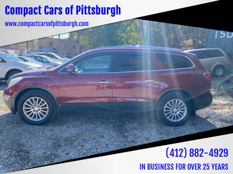 2008 Buick Enclave for sale at Compact Cars of Pittsburgh in Pittsburgh PA