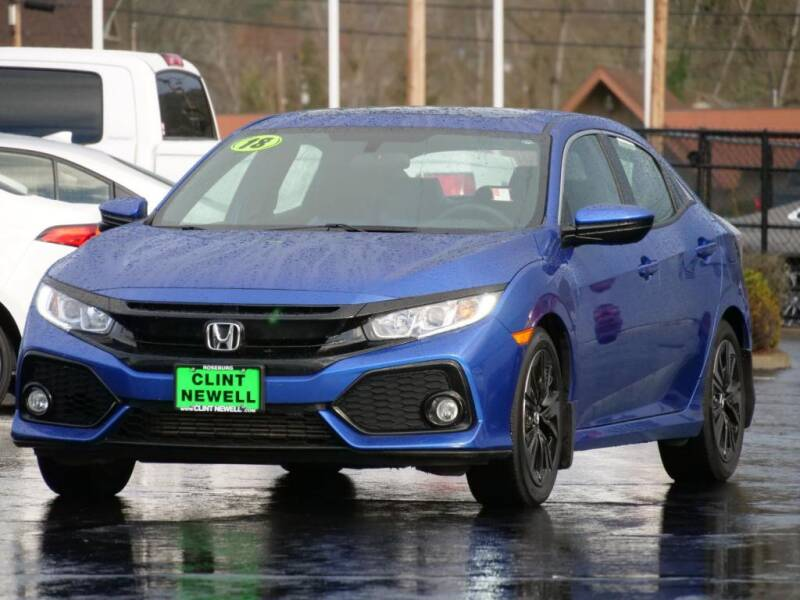 2018 Honda Civic for sale at CLINT NEWELL USED CARS in Roseburg OR