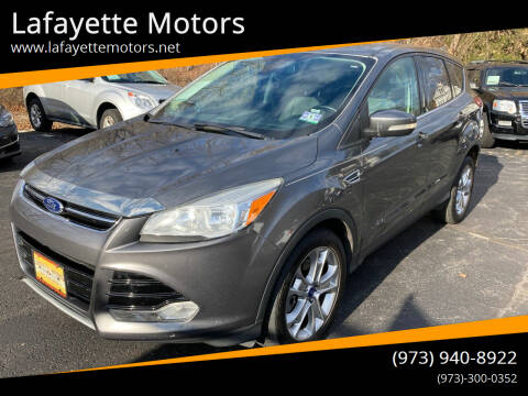 2013 Ford Escape for sale at Lafayette Motors in Lafayette NJ