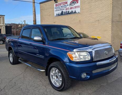 2006 Toyota Tundra for sale at Boston Auto World in Quincy MA