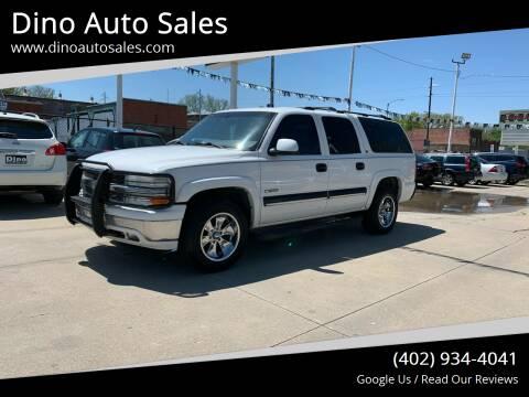 2001 Chevrolet Suburban for sale at Dino Auto Sales in Omaha NE