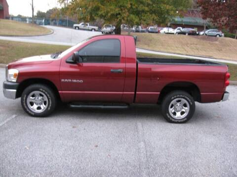 2007 Dodge Ram Pickup 1500 for sale at Automotion Of Atlanta in Conyers GA