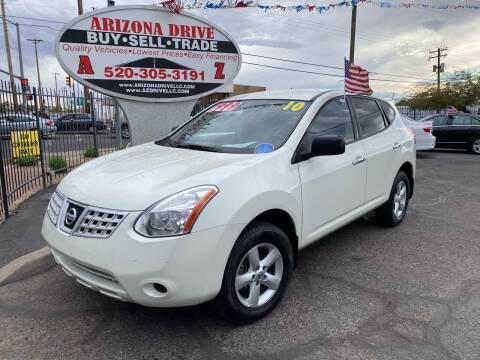 2010 Nissan Rogue for sale at Arizona Drive LLC in Tucson AZ