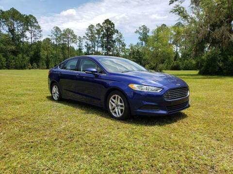 2014 Ford Fusion for sale at Easy Street Auto Brokers in Lake City FL