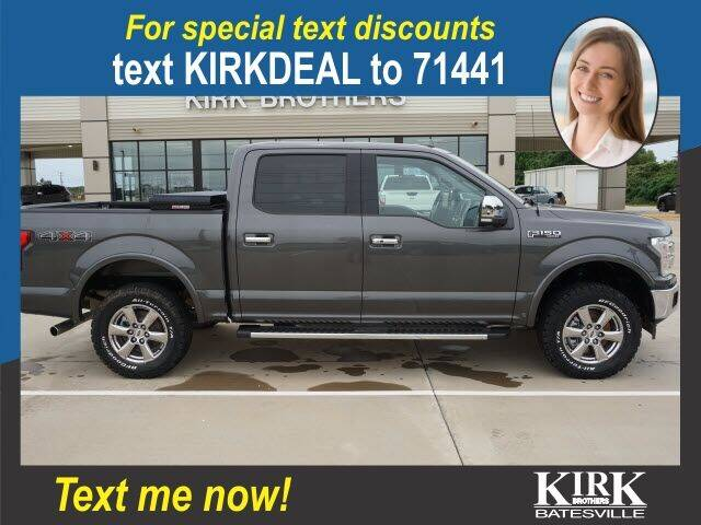 2018 Ford F-150 for sale at Kirk Brothers Batesville in Batesville MS