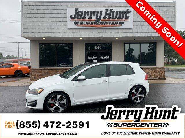 2015 Volkswagen Golf GTI for sale at Jerry Hunt Supercenter in Lexington NC
