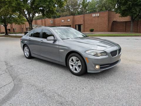 2012 BMW 5 Series for sale at United Luxury Motors in Stone Mountain GA