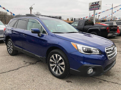2016 Subaru Outback for sale at SKY AUTO SALES in Detroit MI