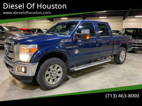 2012 Ford F-250 Super Duty for sale at Diesel Of Houston in Houston TX