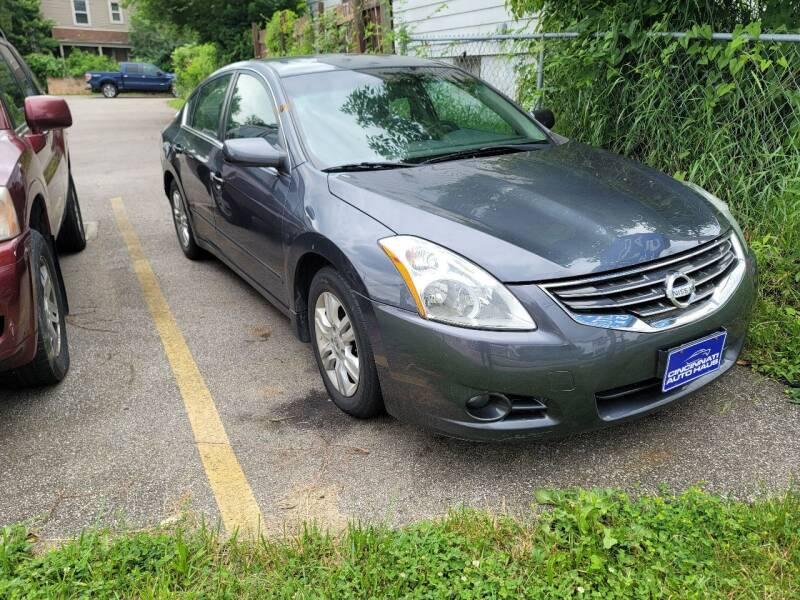 2011 Nissan Altima for sale at Cincinnati Auto Haus in Cincinnati OH
