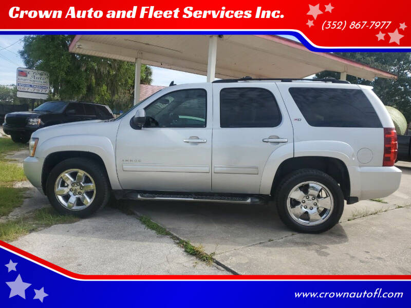 2013 Chevrolet Tahoe for sale at Crown Auto and Fleet Services Inc. in Ocala FL