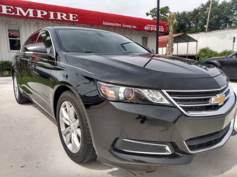 2016 Chevrolet Impala for sale at Empire Automotive Group Inc. in Orlando FL