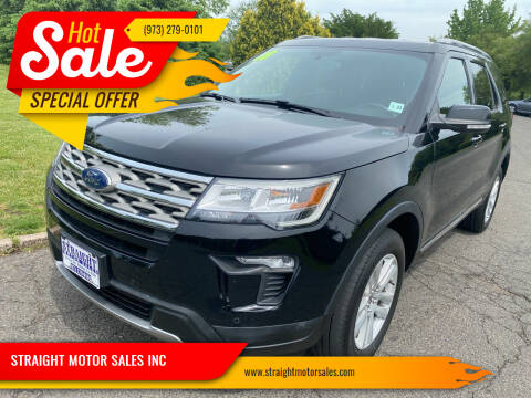 2018 Ford Explorer for sale at STRAIGHT MOTOR SALES INC in Paterson NJ