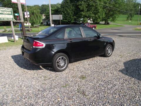 2010 Ford Focus for sale at Country Truck and Car Lot II in Richfield PA