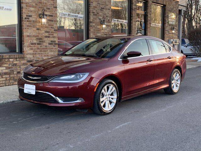 2015 Chrysler 200 for sale at The King of Credit in Clifton Park NY