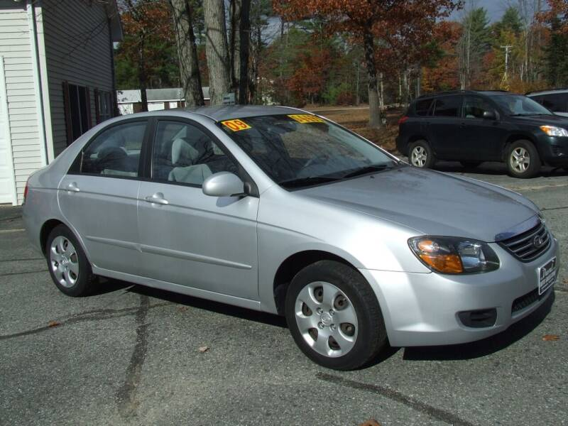2009 Kia Spectra for sale at DUVAL AUTO SALES in Turner ME