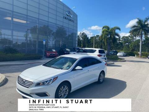 2017 Hyundai Sonata for sale at Infiniti Stuart in Stuart FL