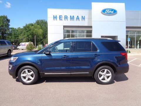 2017 Ford Explorer for sale at Herman Motors in Luverne MN