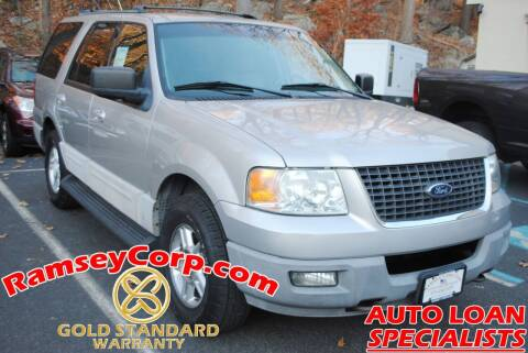 2003 Ford Expedition for sale at Ramsey Corp. in West Milford NJ