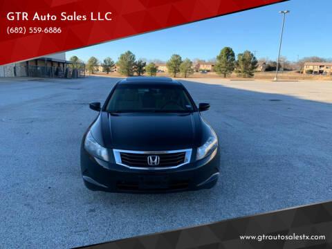 2008 Honda Accord for sale at GTR Auto Sales LLC in Haltom City TX