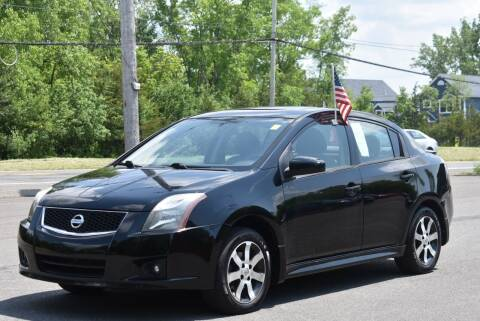 2012 Nissan Sentra for sale at GREENPORT AUTO in Hudson NY