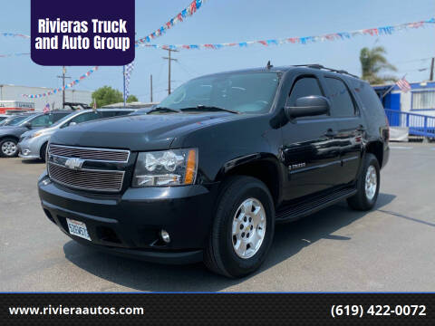 2007 Chevrolet Tahoe for sale at Rivieras Truck and Auto Group in Chula Vista CA