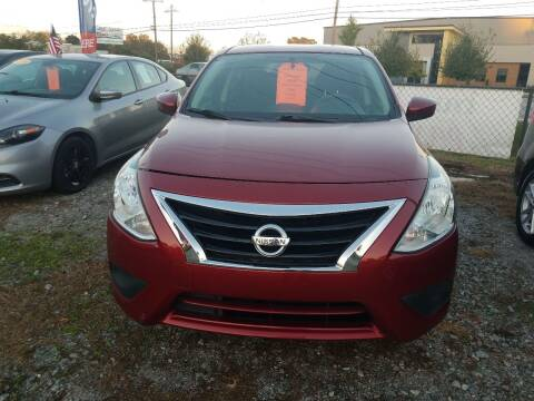 2017 Nissan Versa for sale at Dick Smith Auto Sales in Augusta GA