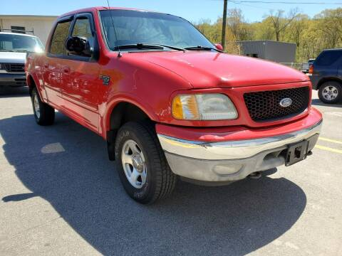 2002 Ford F-150 for sale at MX Motors LLC in Ashland MA