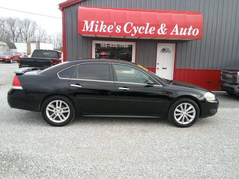 2013 Chevrolet Impala for sale at MIKE'S CYCLE & AUTO in Connersville IN