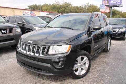 2013 Jeep Compass for sale at Mars auto trade llc in Kissimmee FL