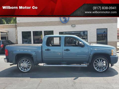 2010 Chevrolet Silverado 1500 for sale at Wilborn Motor Co in Fort Worth TX