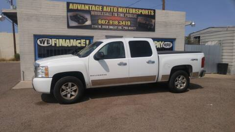 2007 Chevrolet Silverado 1500 for sale at Advantage Motorsports Plus in Phoenix AZ