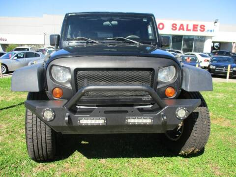 2007 Jeep Wrangler Unlimited for sale at Pars Auto Sales Inc in Stone Mountain GA