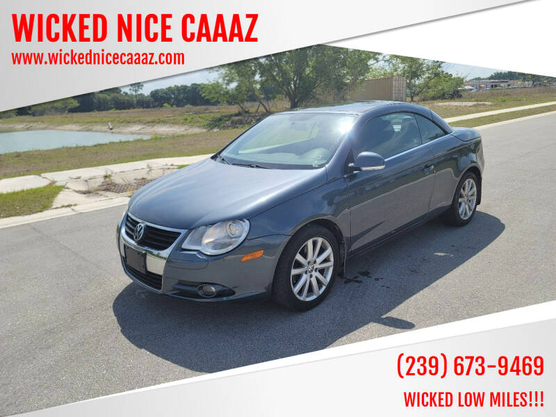 2008 Volkswagen Eos for sale at WICKED NICE CAAAZ in Cape Coral FL