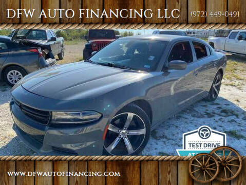 2017 Dodge Charger for sale at Bad Credit Call Fadi in Dallas TX